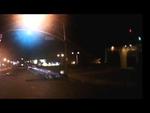 Прерванный ночной полёт. Night Rider accident,Autos,,