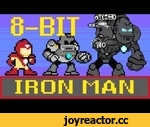 8-bit Cinema: Iron Man in 60 Seconds,Film,,Watch to let us know what you think of the new pilot, 8 Bit Cinema and get Iron Man in 60 seconds 8 Bit-ified! Subscribe to CineFix - http://goo.gl/9AGRm Welcome to 8-bit Cinema! No quarters required, just 60 seconds. We present for your enjoyment: the