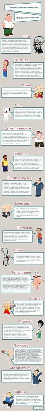 1-10 Цифры в Москве даже необходимее слов. Особенно если вы ездите на такси, особенно если такси неофициальное. Очень часто водители пытаются взять с иностранца больше, так что выучите цифры и договаривайтесь о сумме заранее. Буквы русские, кстати, тоже пригодятся: чтобы читать названия станций ме
