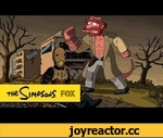 Treehouse of Horror XXIV Couch Gag by Guillermo del Toro | THE SIMPSONS | ANIMATION on FOX,Entertainment,,Guillermo del Toro creates the Couch Gag for this years Treehouse of Horror episode.  Subscribe now for more The Simpsons clips: http://fox.tv/SubscribeAnimationDomination  Like The Simpsons on